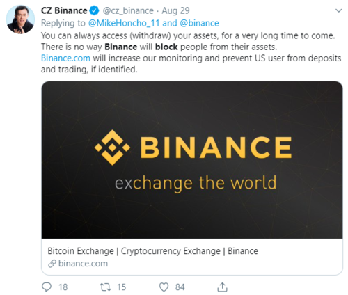 Binance Tweet - Withdrawal Open.png