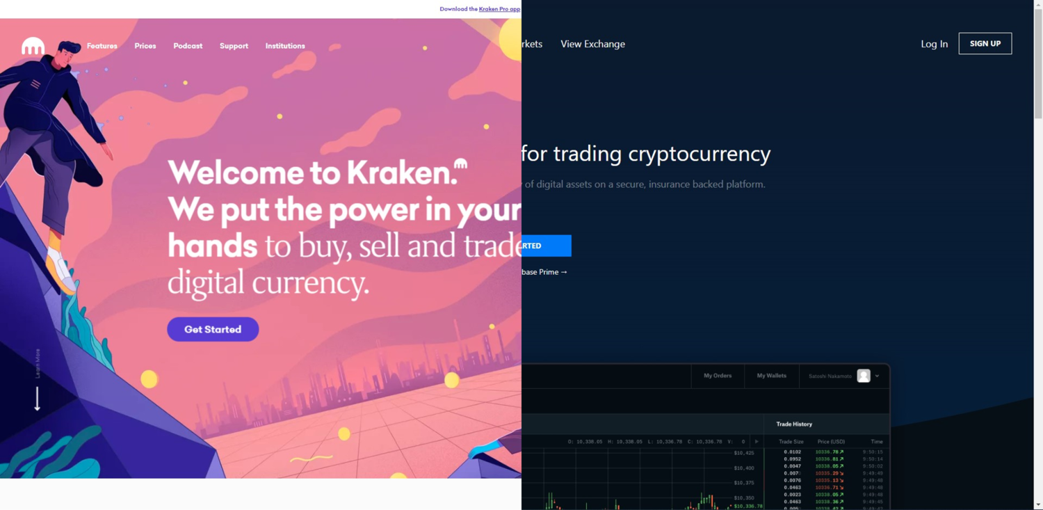 Coinbase Vs Kraken Which Exchange Is The Best For Buying Bitcoin