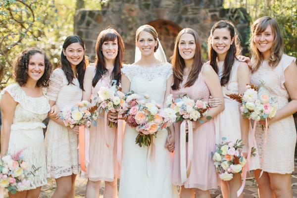 southern-wedding-pink-bridesmaid-dresses.jpg