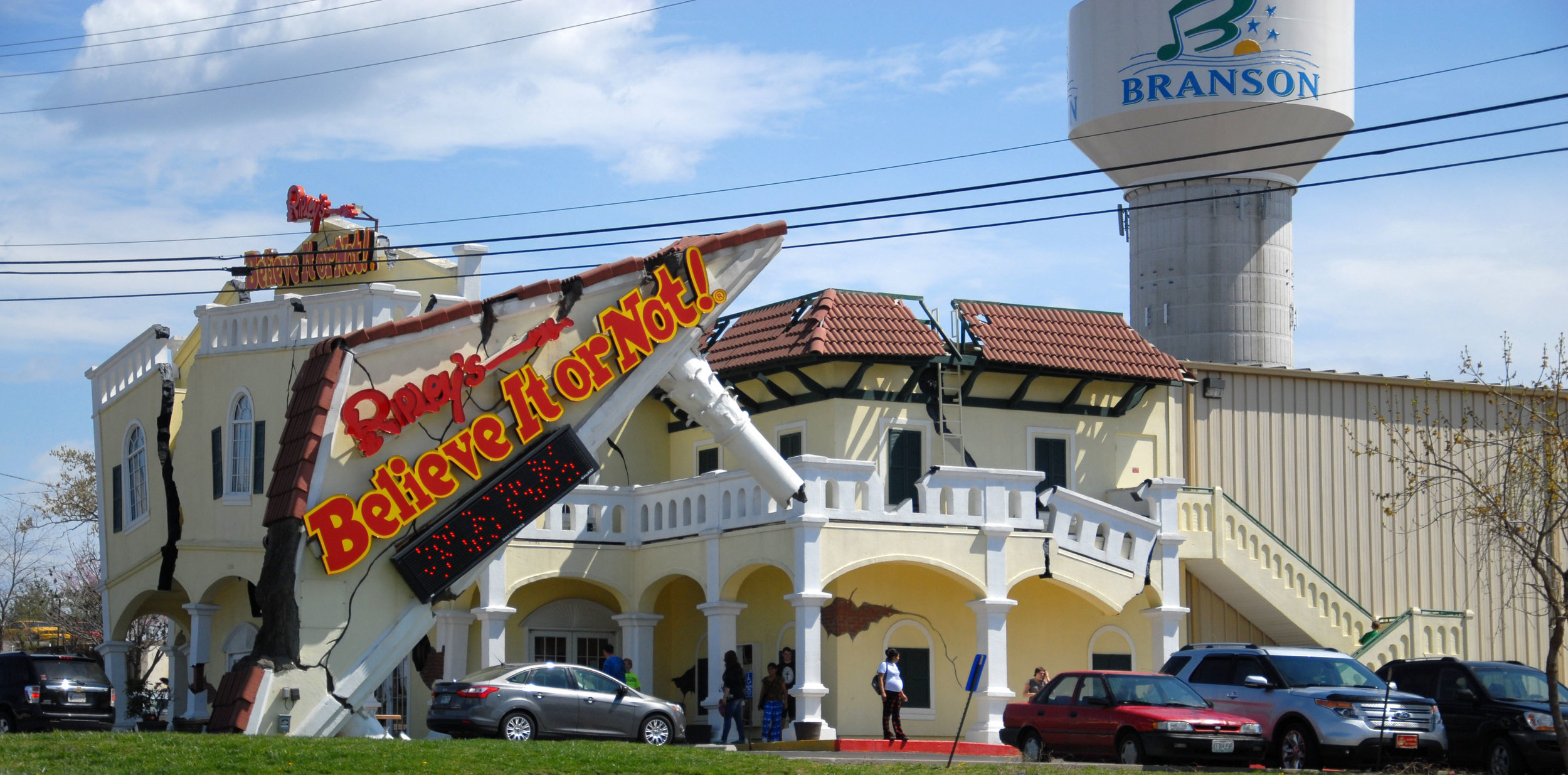 RIPLEY'S BELIEVE IT OR NOT - BRANSON, MO   Discover the strange, the shocking, and beautiful at Ripley's Believe It or Not! in Branson. Enjoy some eye-popping exhibits where you can pose with the Vampire Woman, lose yourself in our spinning vortex tunnel, and even see a shrunken head!