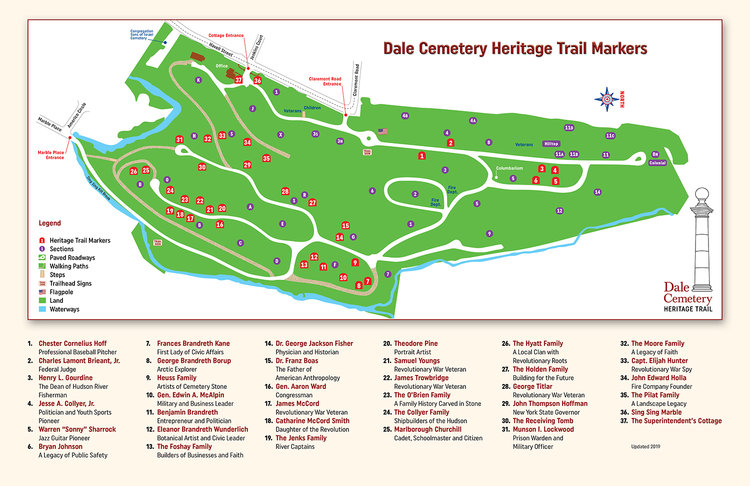 Dale Cemetery Heritage Trail — Ossining Historic Cemeteries Conservancy