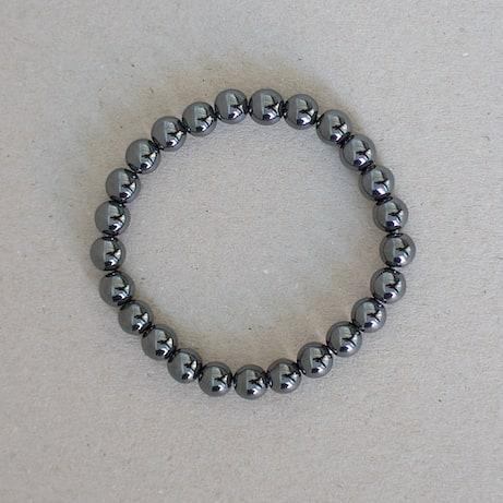 Bracelet Hematite  Grounding - Balance -  Earthing . . . #balance #grounding #earthing #bracelet #hematite #sauge
