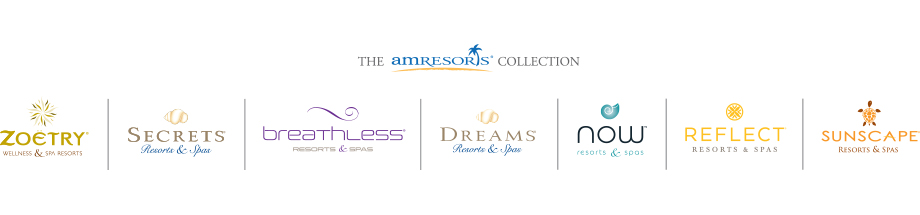 AmResorts - AmResorts brands range from Adults only wellness and relaxing, luxury adults only, Action packed party scene, Family friendly, and budget conscious resorts. AmResorts has properties in Panama, Costa Rica, Jamaica, Punta Cana, and Mexico. There are tons of options to choose from in many price points.