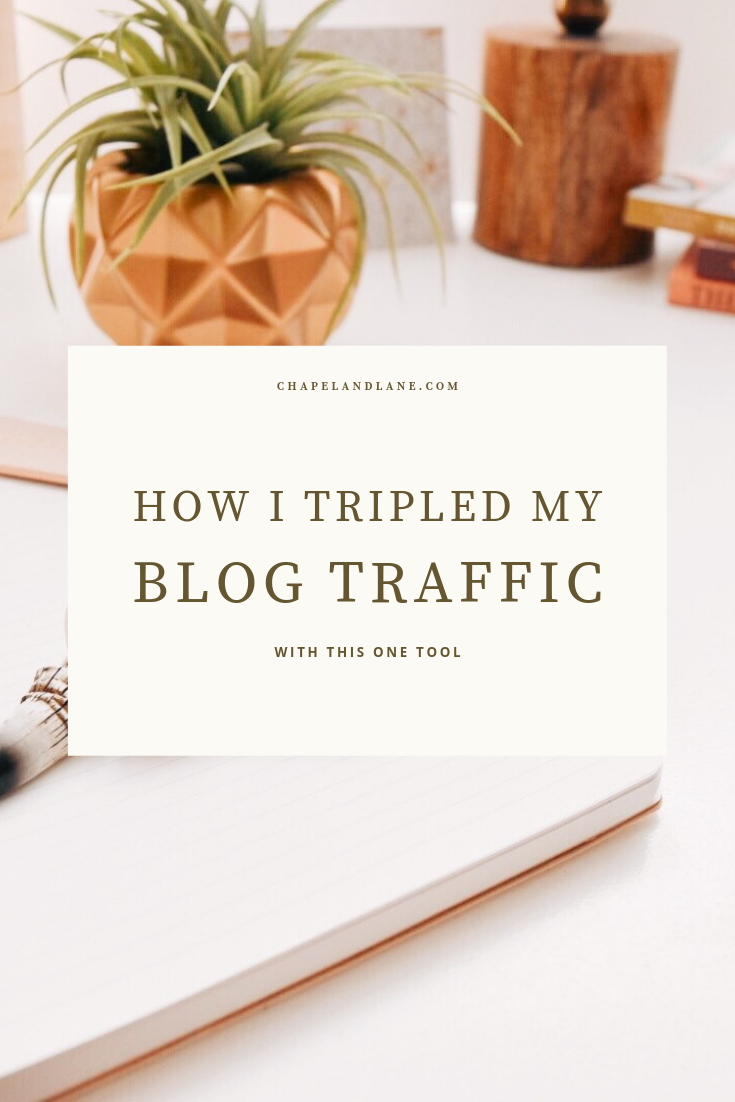 How I Tripled My Blog Traffic - Chapel and Lane Blog.png