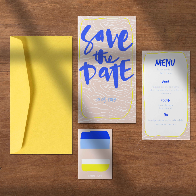 Bruiloft stationery -