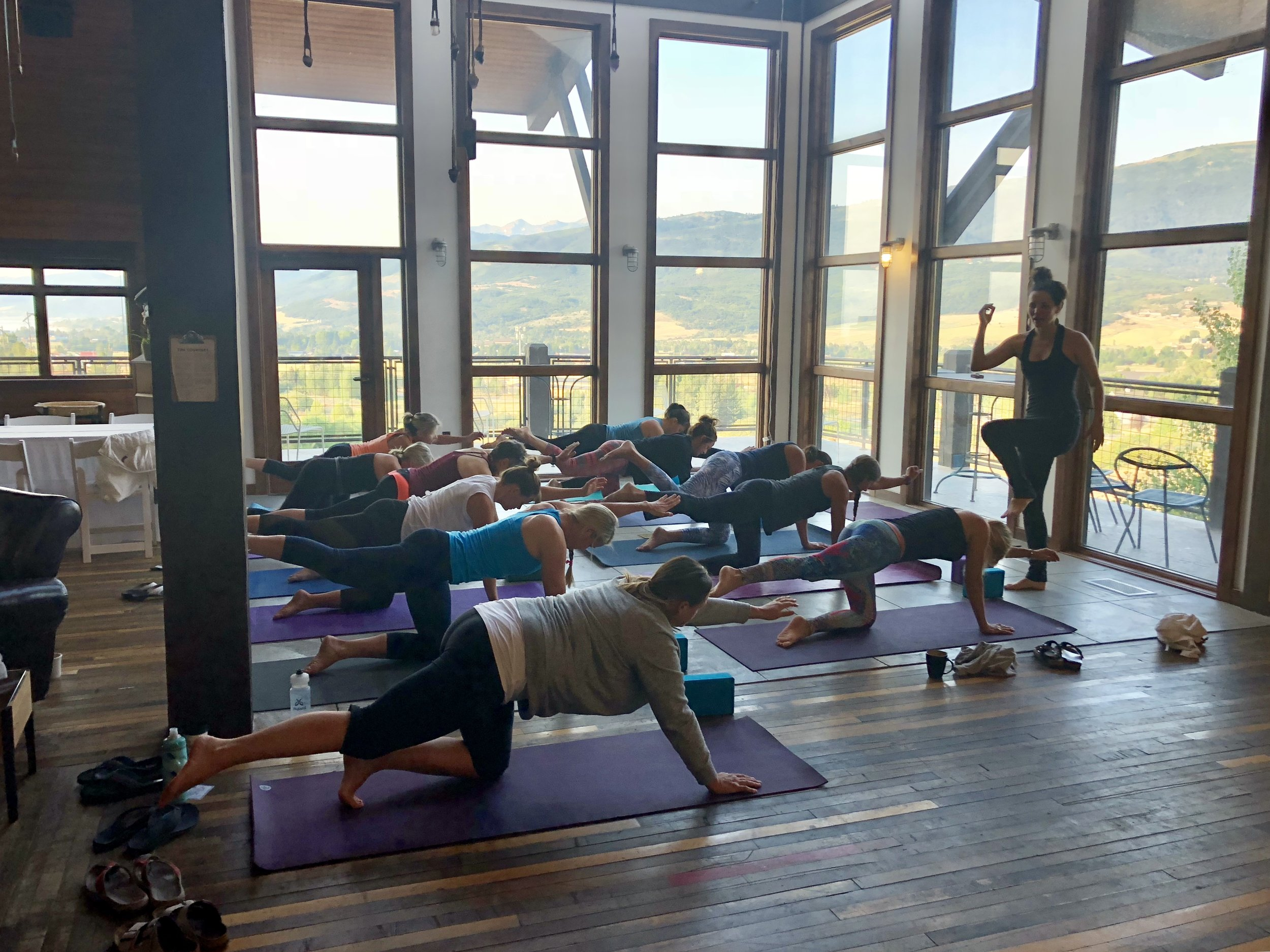 yoga in park city