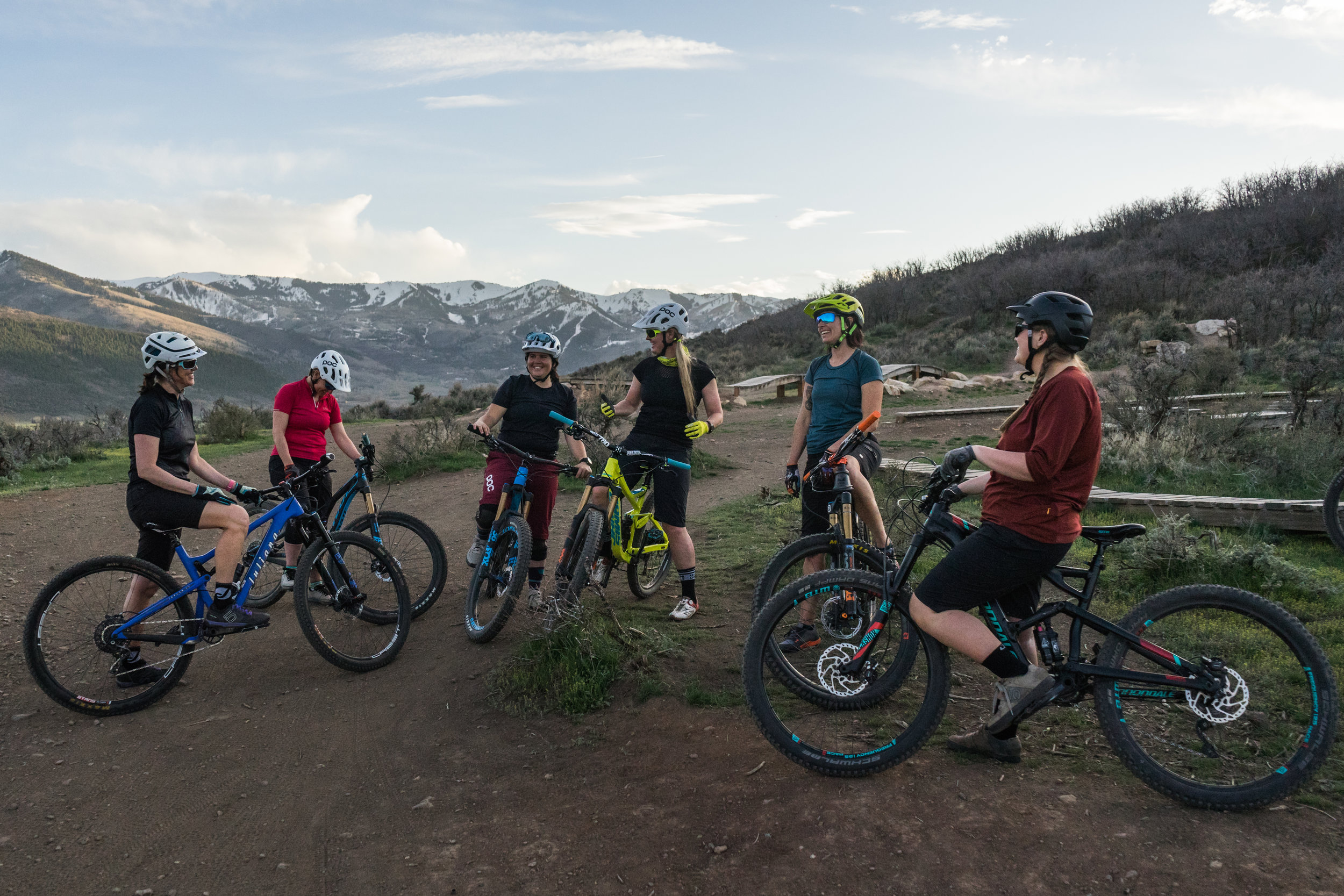 Women in the Wasatch Mountains-Mountain biking retreat