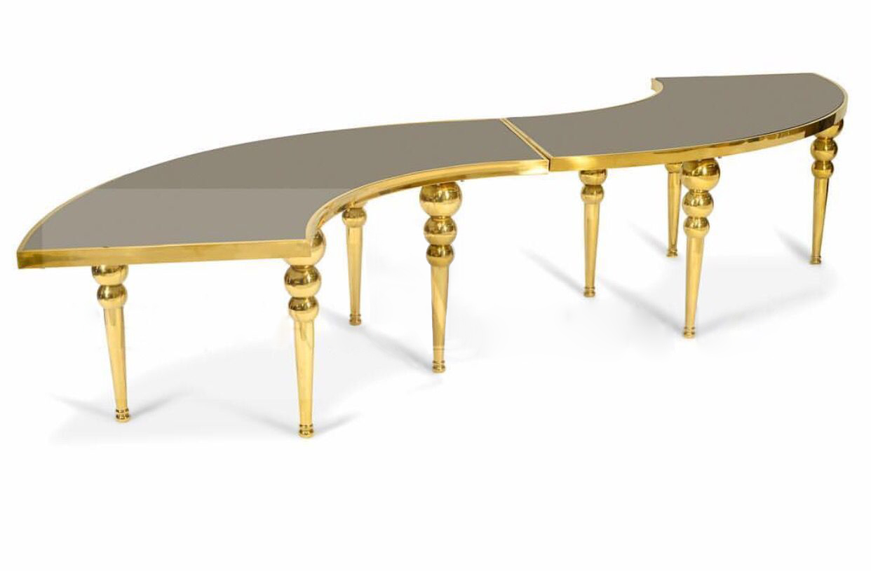 Dubai (Serpentine) Table