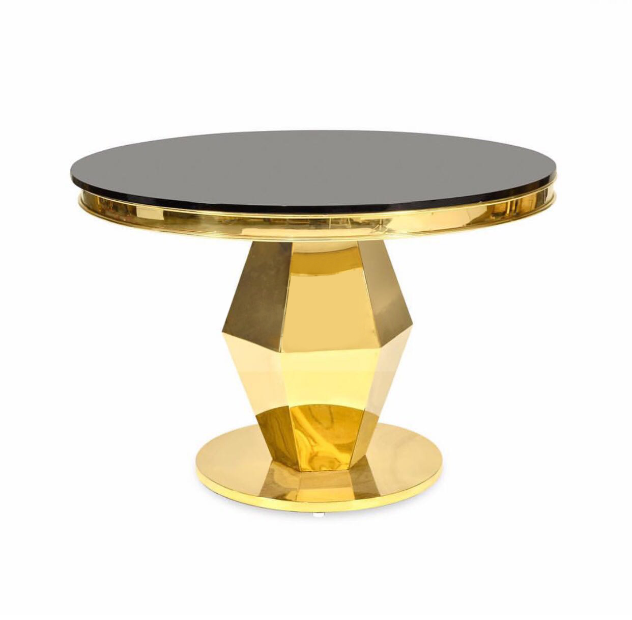 Versailles Round Gold Table