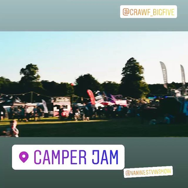 We're at Camperjam - see you here 🤙🤙 Swipe