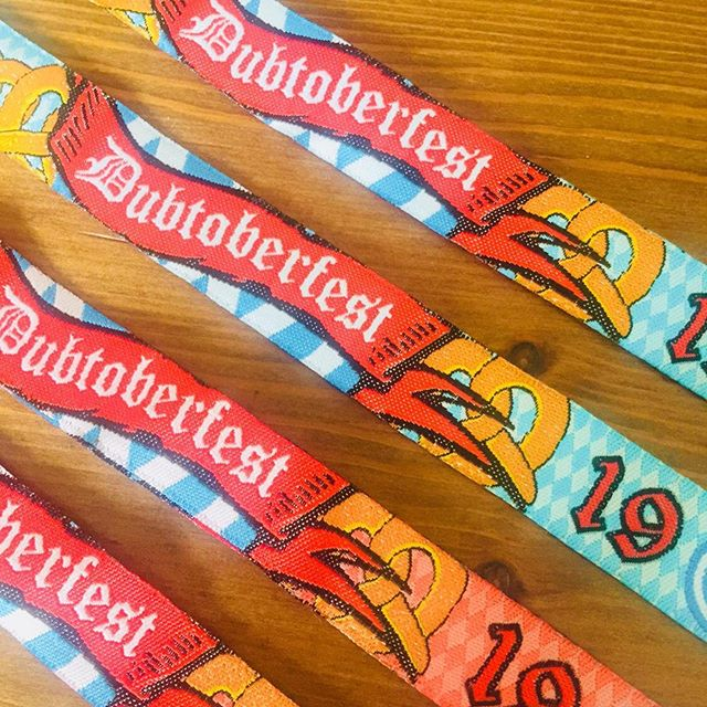 The countdown begins and so do the daily updates! Today's update - wristbands are going out in the post and will be arriving later this week 🥳🥳 Tag us in your photos physically and by using  @dubtoberfest  #dubtoberfest #dubtoberfest2019