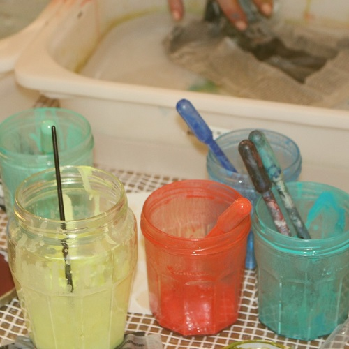 Utilisation de pigments de peinture