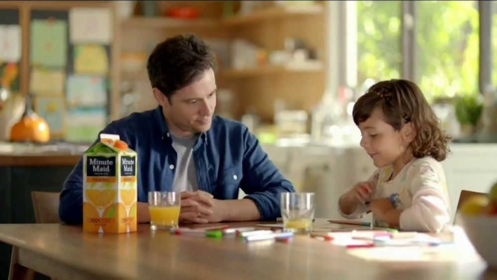 """Minute Maid """"A Glass Full of Smiles"""""""