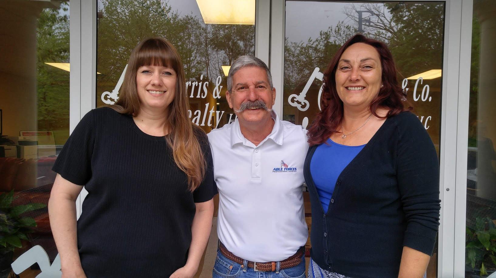 Pictured left to right: Christine Ruffner, Skip Rogers, Audrey Lowry