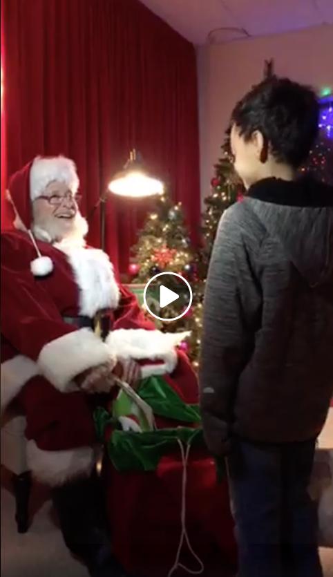 Santa-Facebook-Live