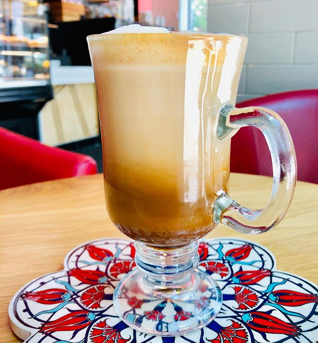 Hot or Cold? Turamisu Latte or Frappé perfect to accompany the delicious desserts @harrybakescafe #coffeeshop #brunch #cocktails
