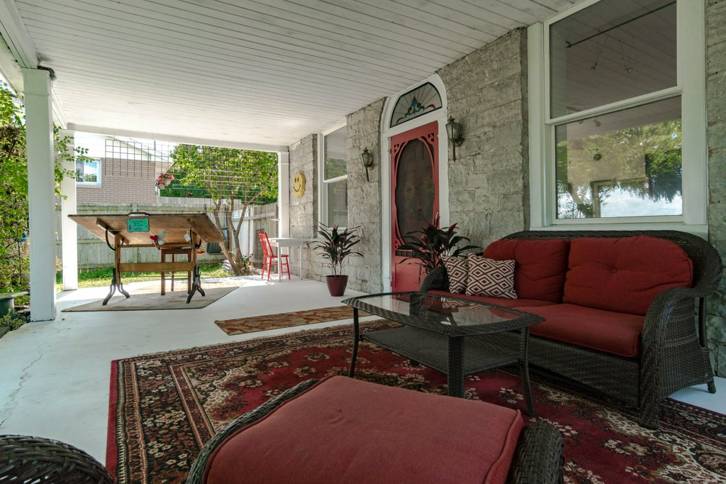 321 Days Rd - A 19th Century limestone schoolhouse converted into a lovely family home.Listed at $395,000.