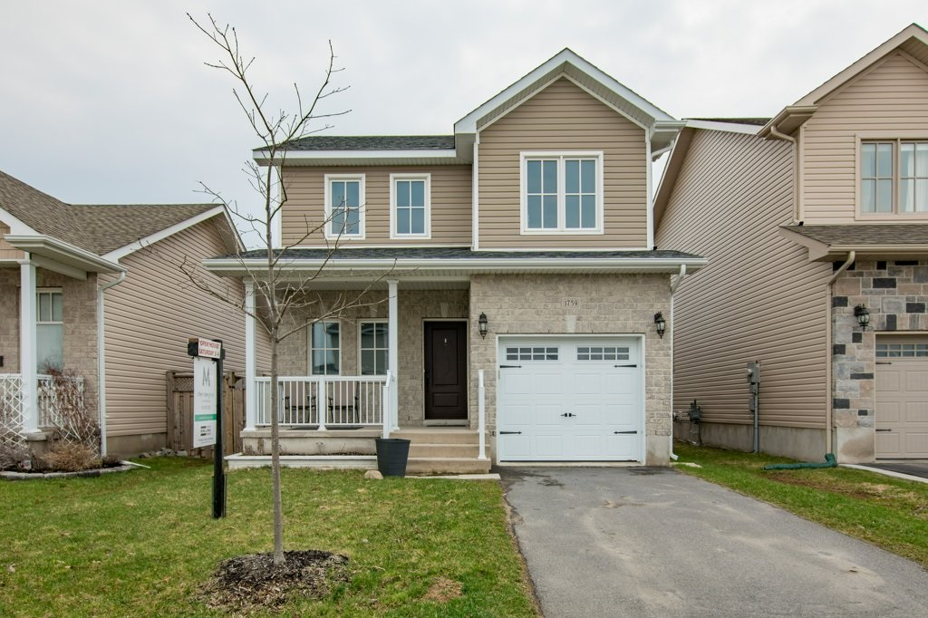 1759 Reginald Bart Drive - An immaculate 3 bedroom 2.5 bath 5-year-old detached home in Kingston's east end. That's a lot of numbers.Listed at $352,500.