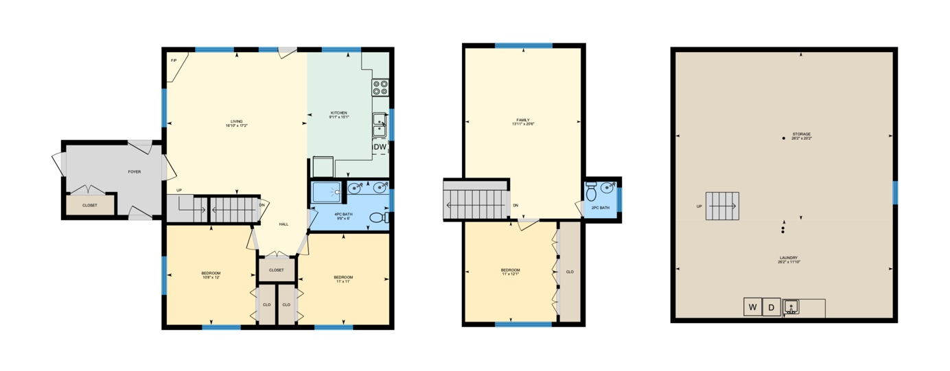 INTERACTIVE FLOOR PLANS ARE AVAILAble IN the IGUIDE TOUR