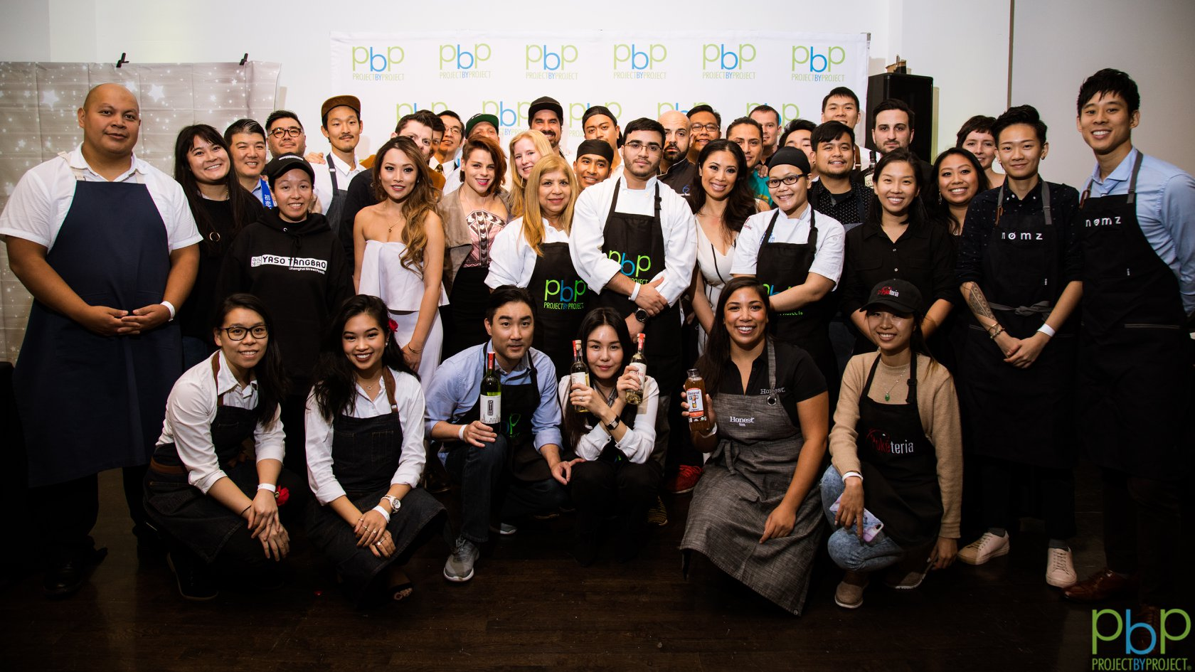 Chefs and the PbP Steering Committee pose for a photo!