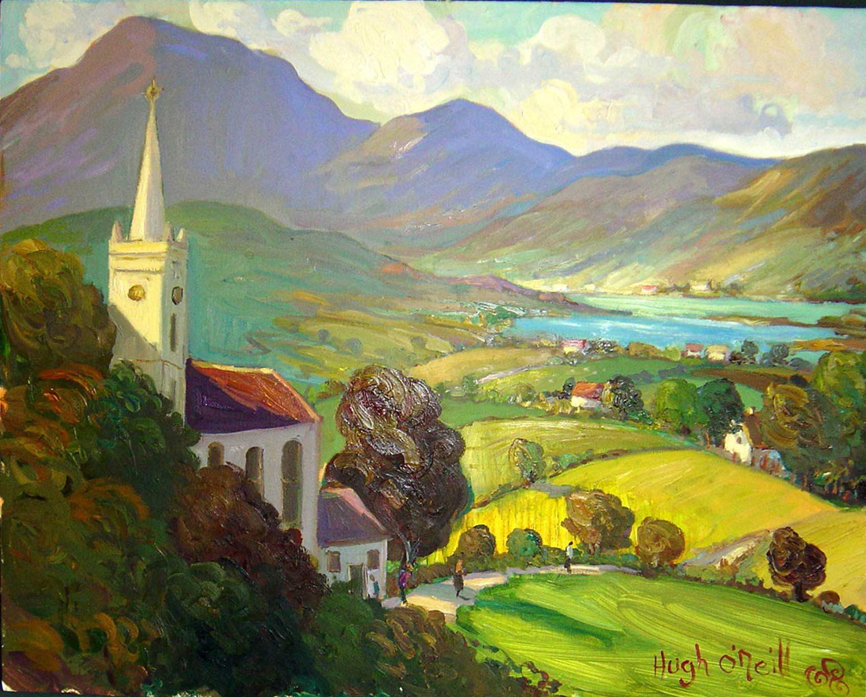 Irish art workshops
