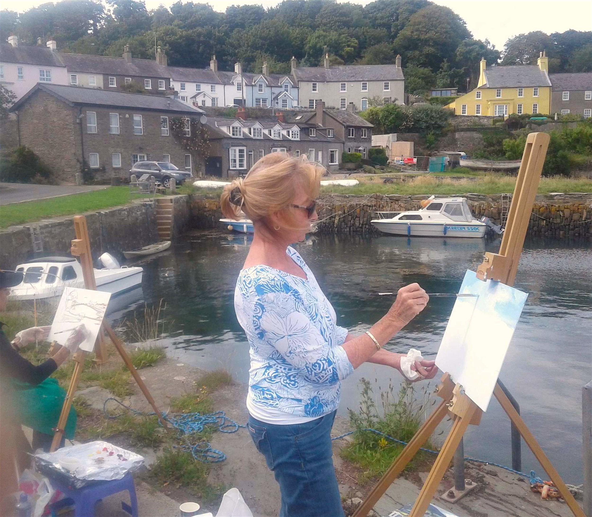 HughO'Neill art workshops in Ireland.JPG