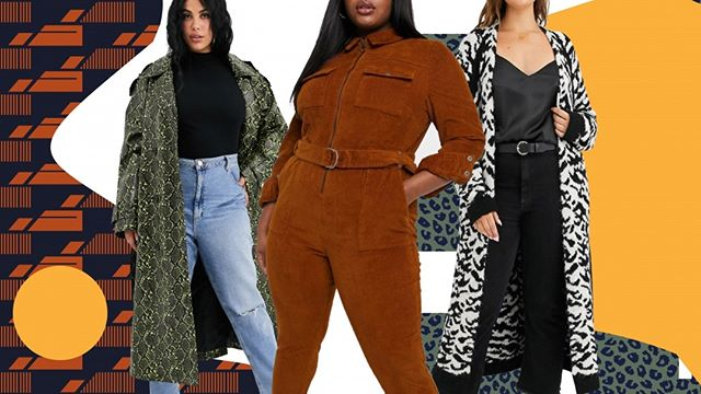 I decided to put out some content that we really don't get to see often. I curated a list of pieces to splurge on for fall BUT it's only for my thicker sisters! These are my favorite type of post to read via fashion news but it's always too expensive or doesn't come in my size. So Please go view what I picked and let me know if you would buy some if not all of these! Link in bio for full post!  Graphic done by me.