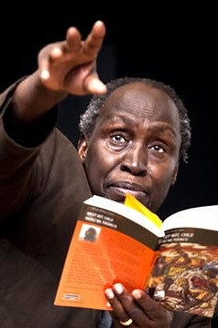 "Ngũgĩ wa Thiong'o, Taban Lo Liyong and Awuor Anyumba - ""If there is need for a 'study of the historic continuity of a single culture', why can't this be African? Why can't African literature be at the centre so that we can view other cultures in relationship to it?"""