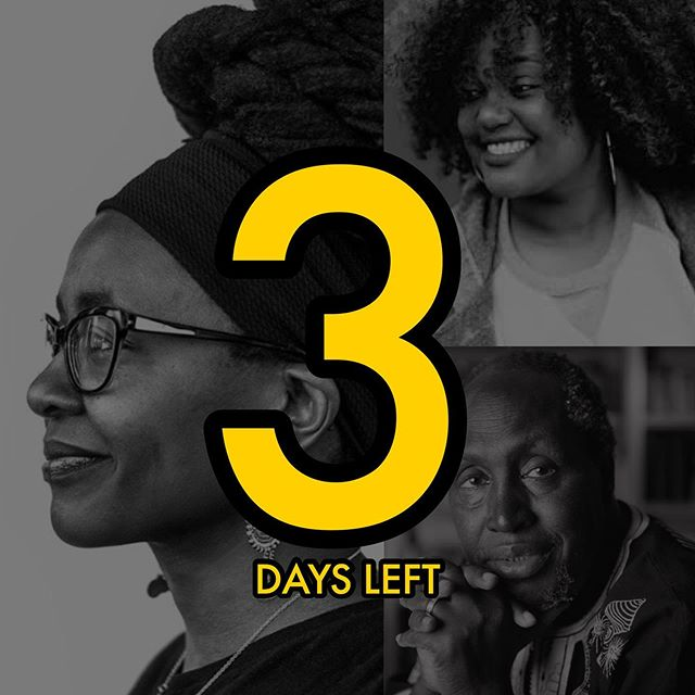 3 DAYS LEFT 🥳🤩 Til you get to meet our 3 amazing keynote speakers.  DAY 1: Opening Ceremony featuring Nnedi Okorafor  DAY2: Morning Plenary featuring Ijeoma Umebinyuo  FREE Closing Ceremony featuring Ngugi Wa Thiong'o  #afrocentrism2019 #afrocentrism #afrocentric #afrofuturism #bookstagram #literature #poetsofinstagram #instagood