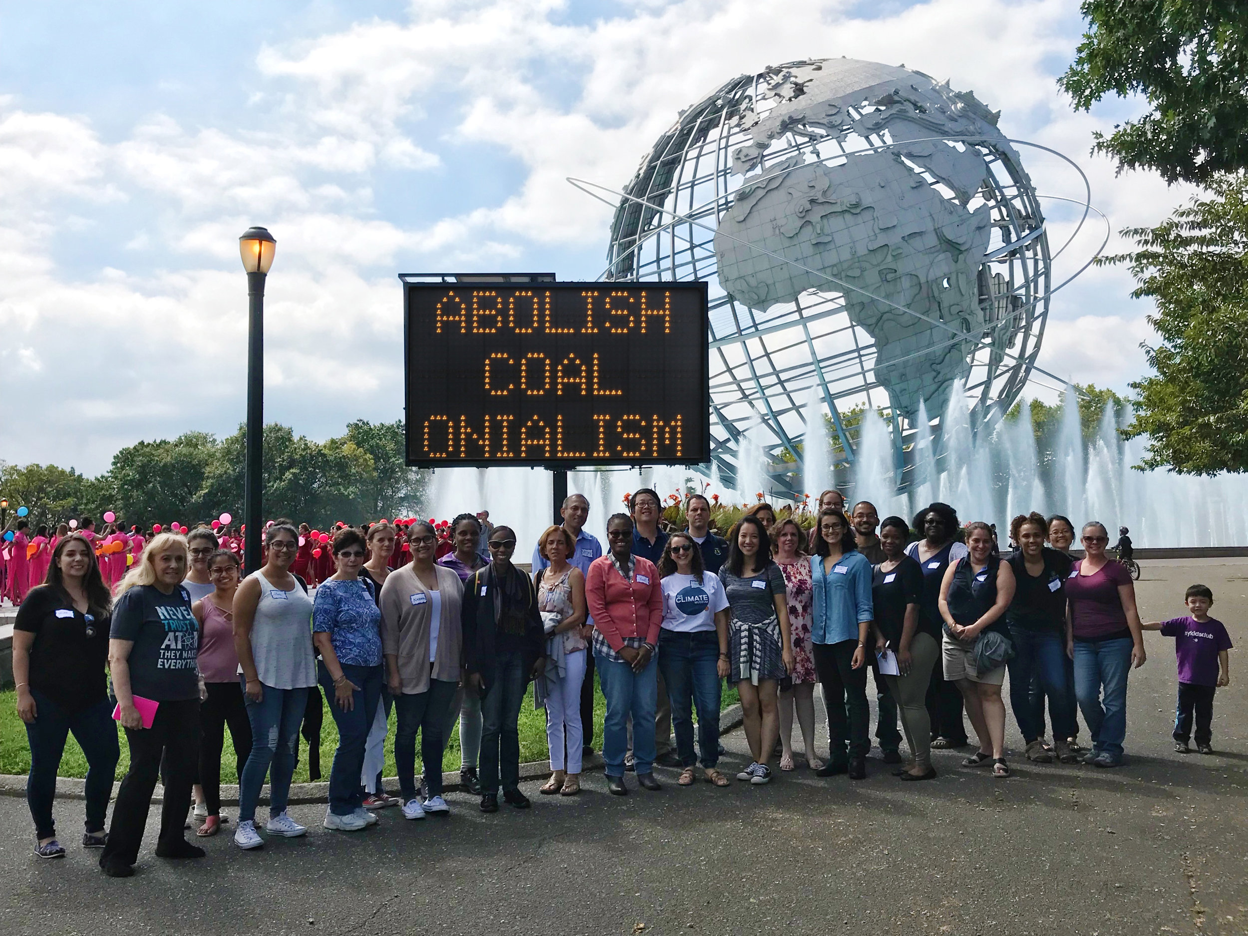 Teacher Training for Climate Education , presented in partnership with the New York Hall of Science.