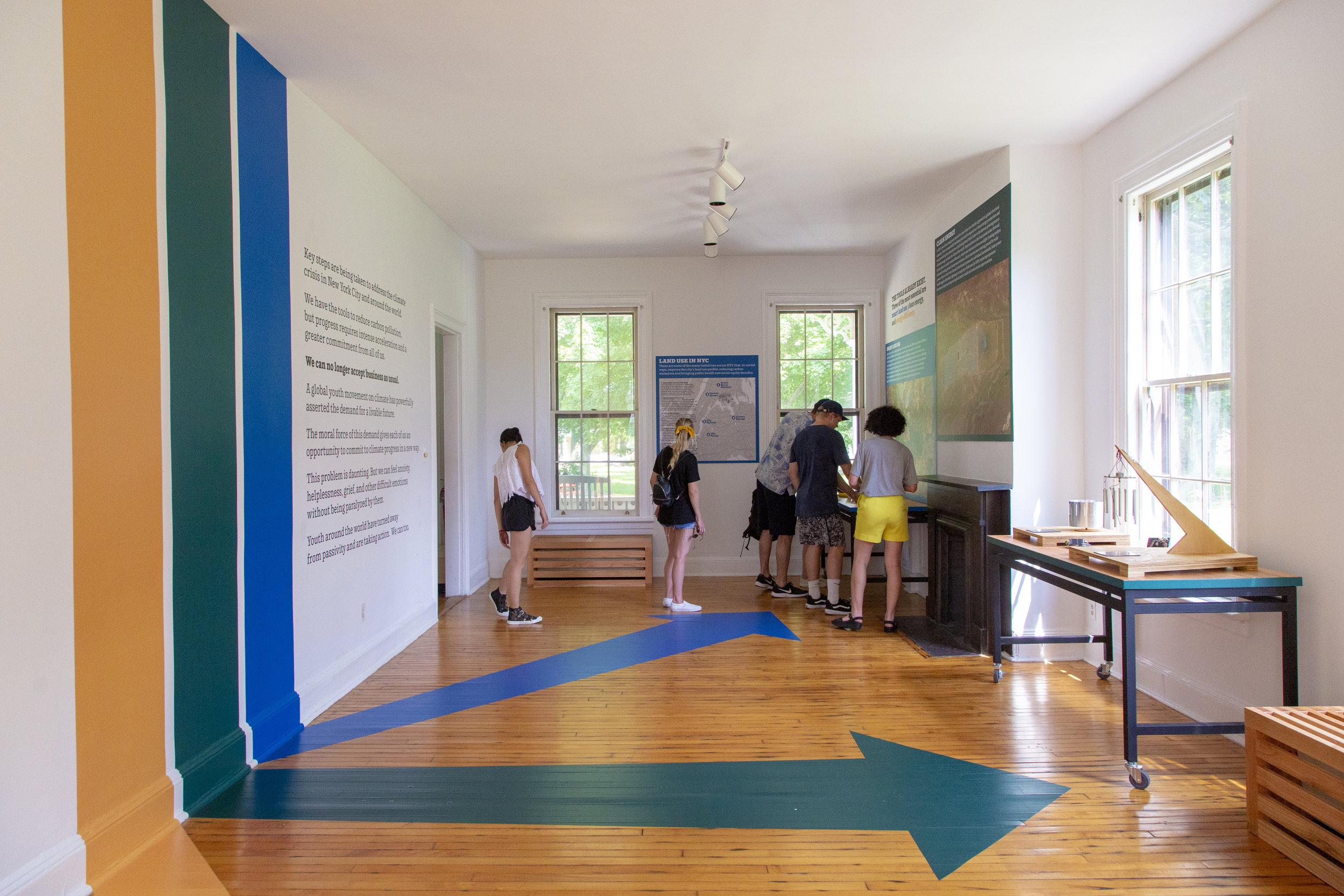 Exhibition interior