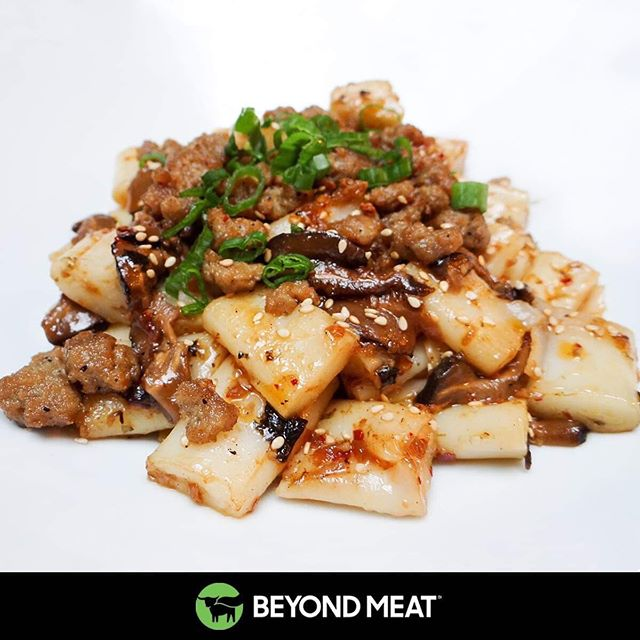 North America's first Beyond Meat XO sauce. Housemade, totally vegan, and served on our fat noodles. Sorry, chubby noodles. We didn't mean to offend our husky little guys.