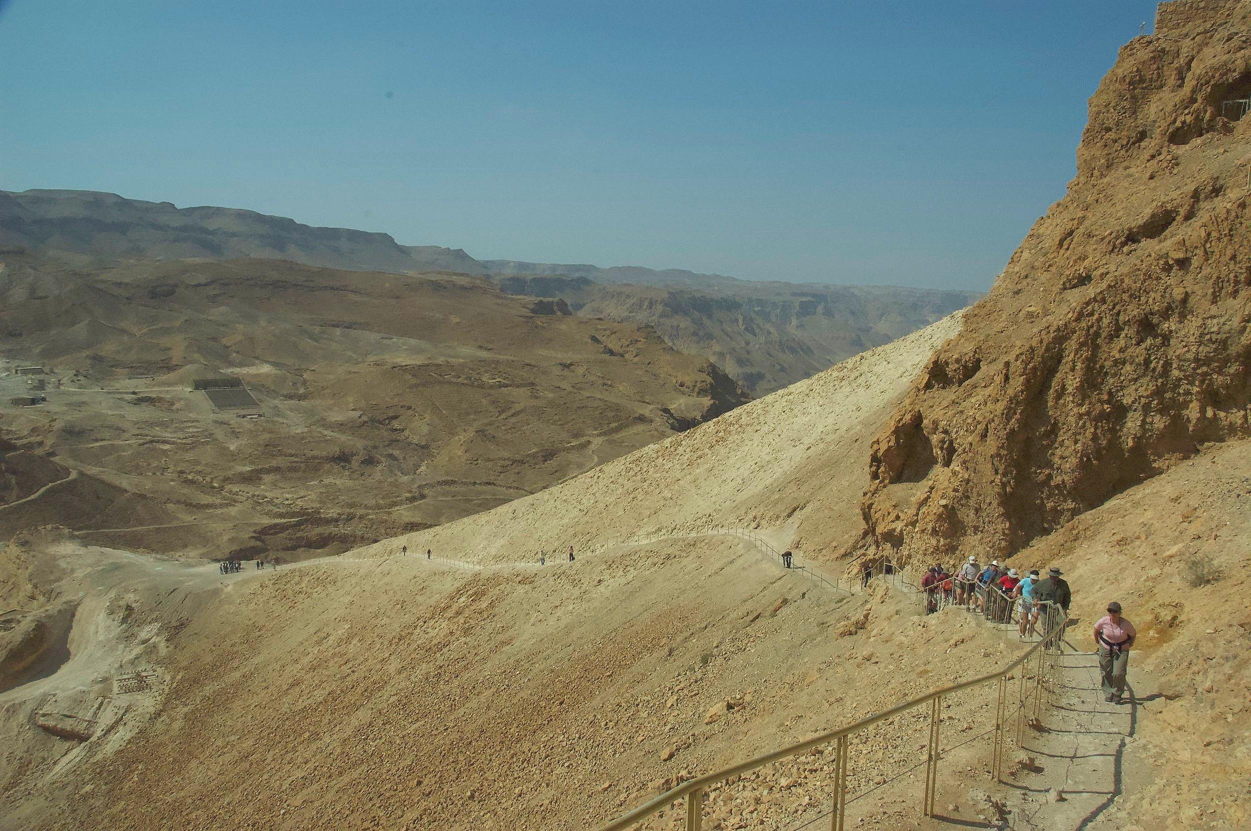 Top of Masada travel Israel