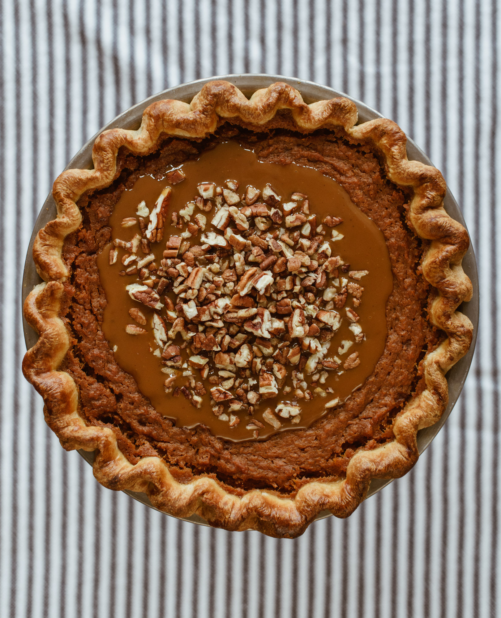 CHICAGO MAGAZINE - //This bold little number plays up the classic fruit-cheese pairing while keeping the sweetness in check.//Five Very Adventurous Pies to Try This Thanksgiving