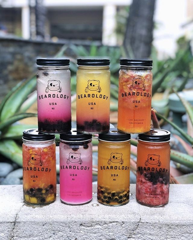 The tower of #Bearology is made up of real fruits, with absolutely no flavored-powders. That's right - artificiality is not a part of our philosophy. ✊⁠ ✴︎⁠ Our drinks may appear sweeter in images. 😜 Our fruits are sourced from local farms. ✨ Therefore, our sweetness levels are heavily dependent on whether fruits are in season or not. At our kiosk, we made adjusting your sweetness levels easy to suit any preference. ⁠ ✴︎⁠ 🍓 FRUITS IN SEASON (JULY): Blueberries • Peaches • Strawberries • Raspberries • Watermelons — Order any one of our drinks that contain these ingredients for something sweeter. 💞⁠ ✴︎⁠ 📸: @_mick_e⁠