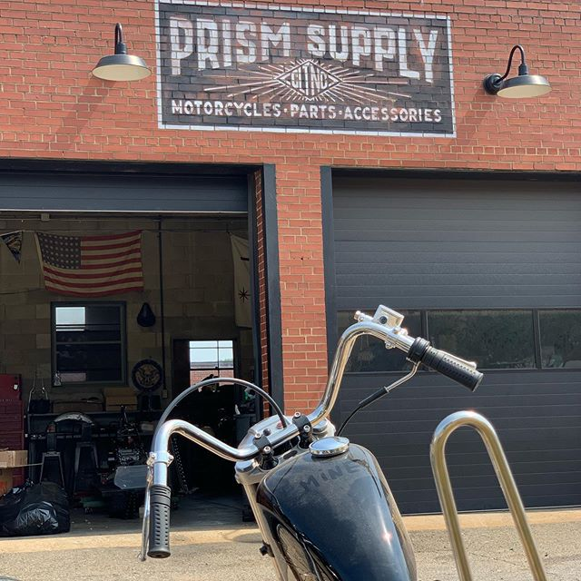 Looking forward to having the @prismsupply_ squad at the #blueridgestakeout . These guys not only run a shop & store, they put on the @thecongregationshow and have been building out quite a community down in Charlotte, NC. with multiple events at their brick and mortar. They will be hosting the roll in bike show during the BRSO.  Stay tuned for a look at the trophies and make sure to roll your bike in 🏆