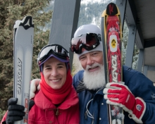 Love of Skiing - Jackson Hole - 2011