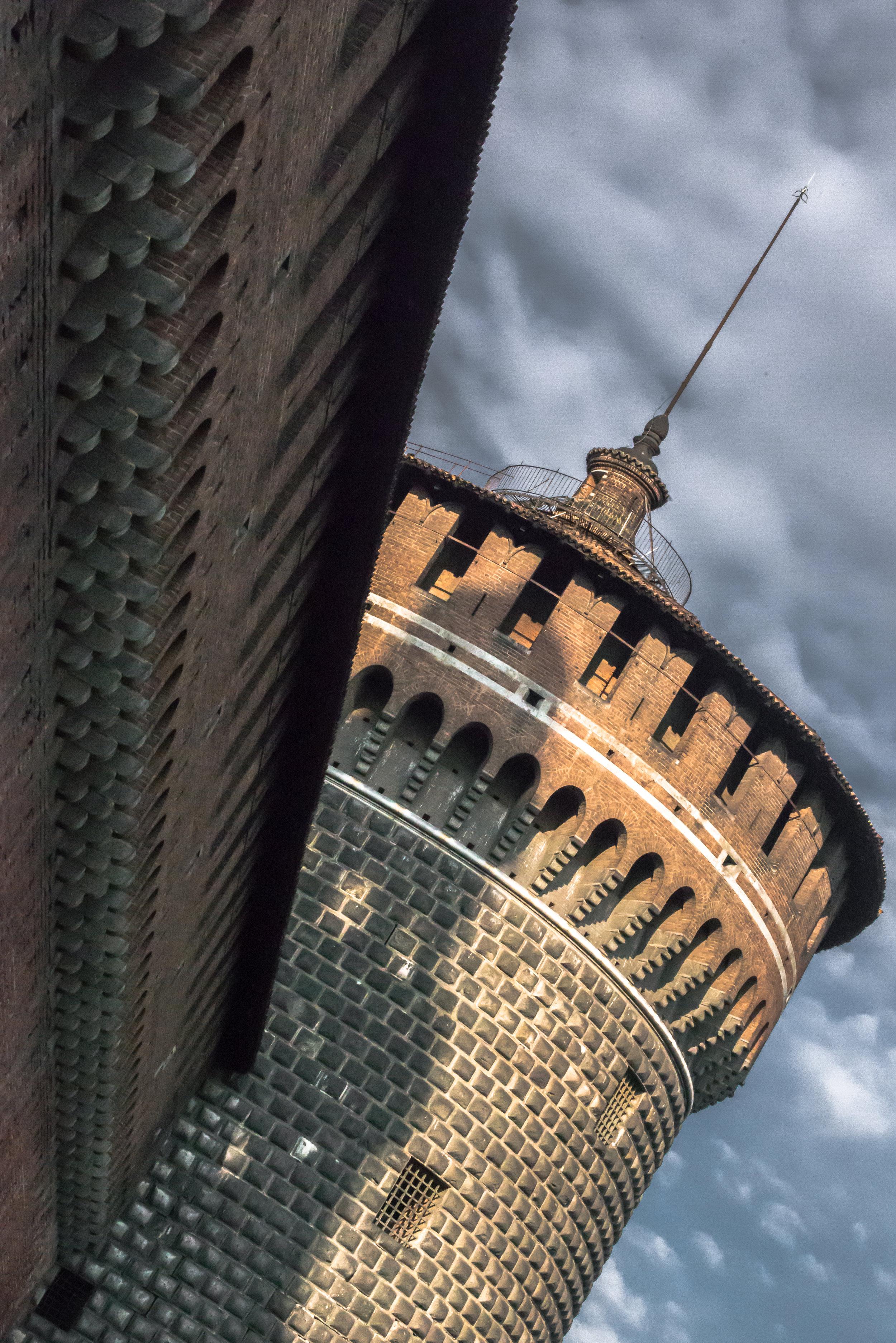 Vietato Entrare - Sfourza Castle - Milan, Italy -2014