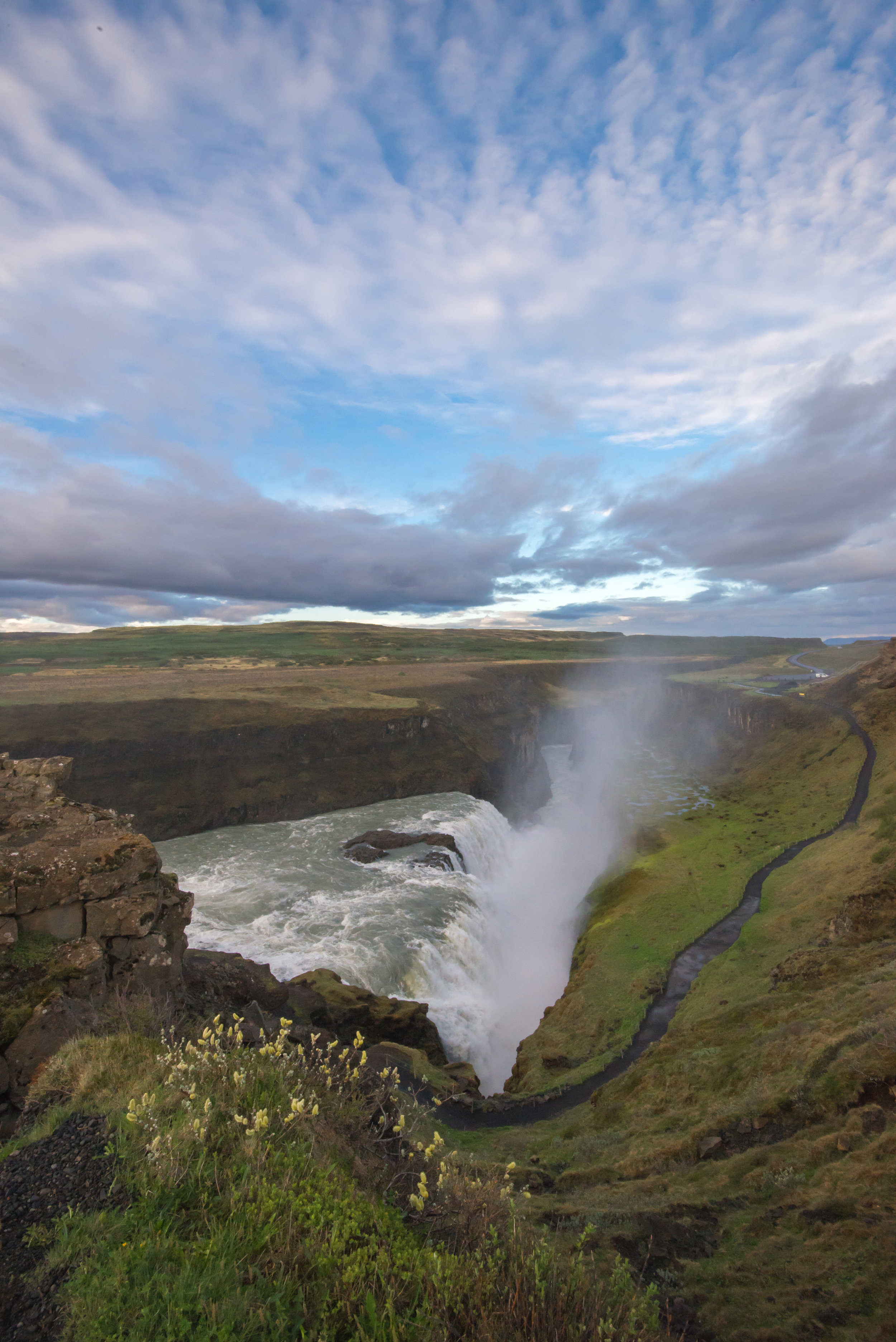 Dawn At Gullfoss - Iceland - 2017
