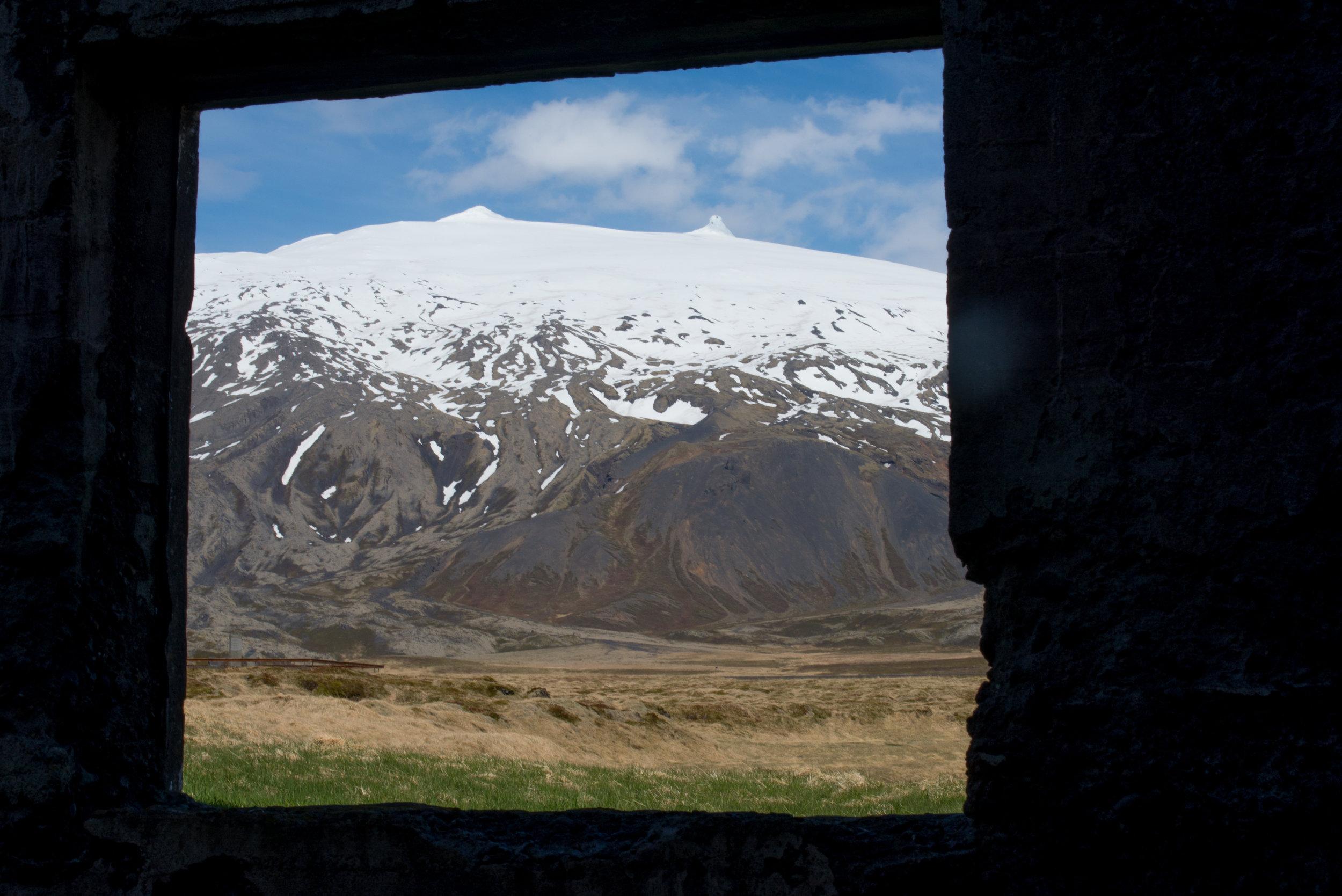 Glacier Frame - Iceland - 2017