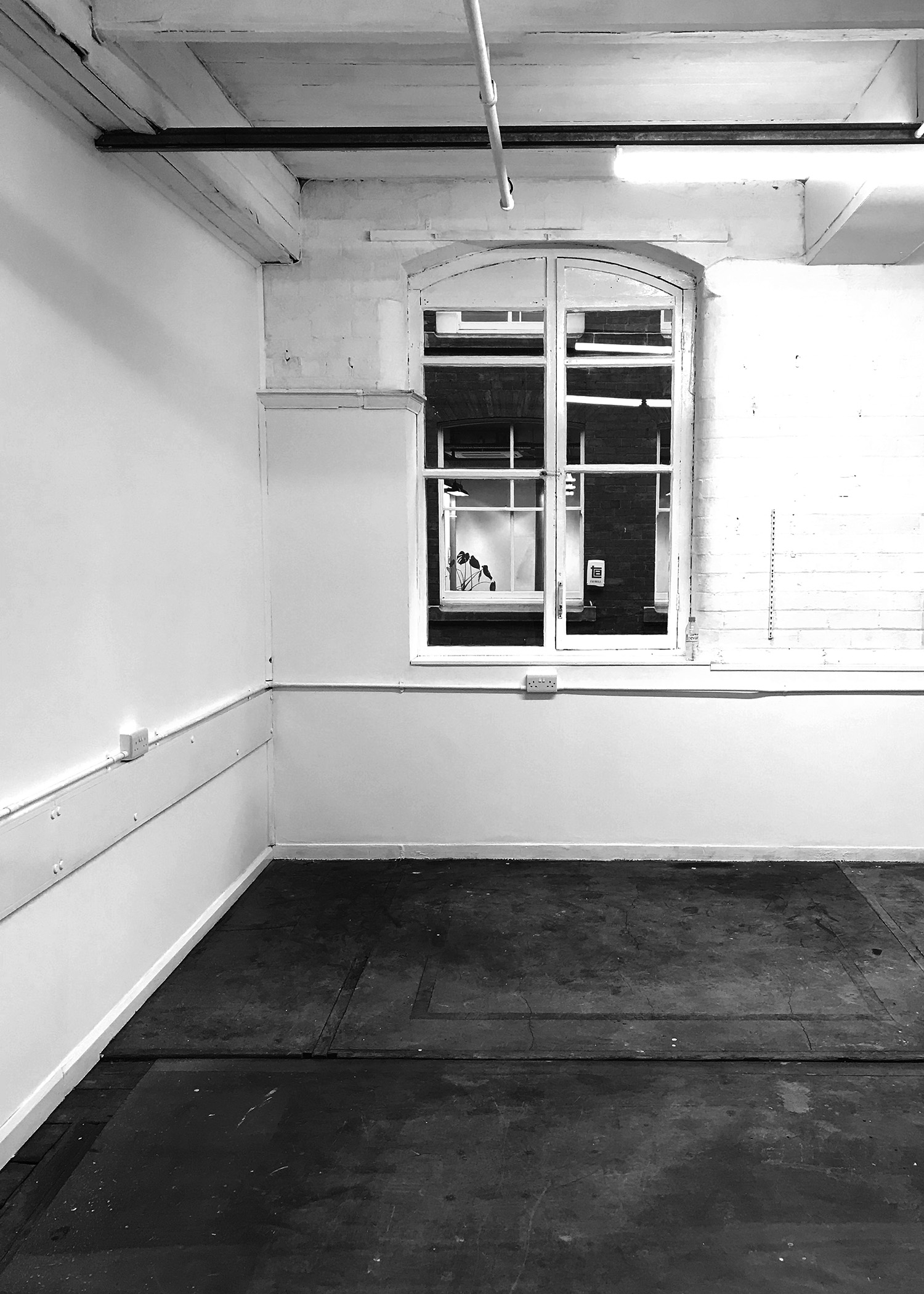 Our new studio space – before renovations begin!