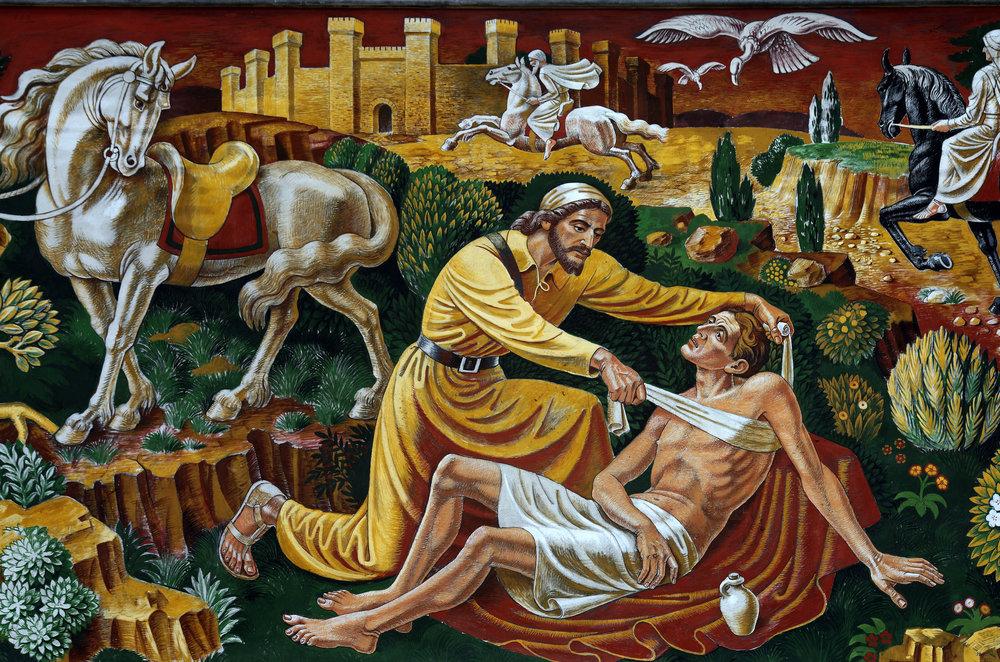 The Good Samaritan (Mural)