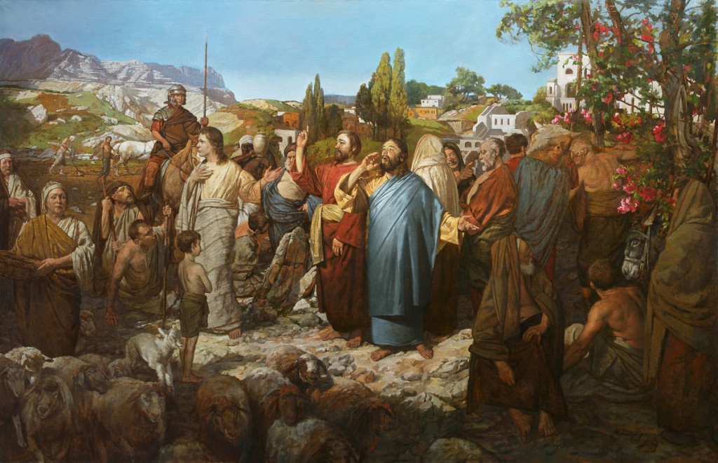 Parable of the Wedding Feast by A.N. Mironov (Wikimedia Commons)