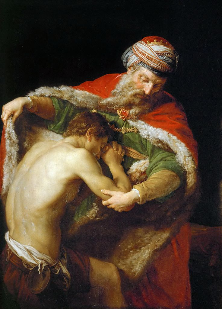 The Return of the Prodigal Son by Pompeo Girolamo Batoni