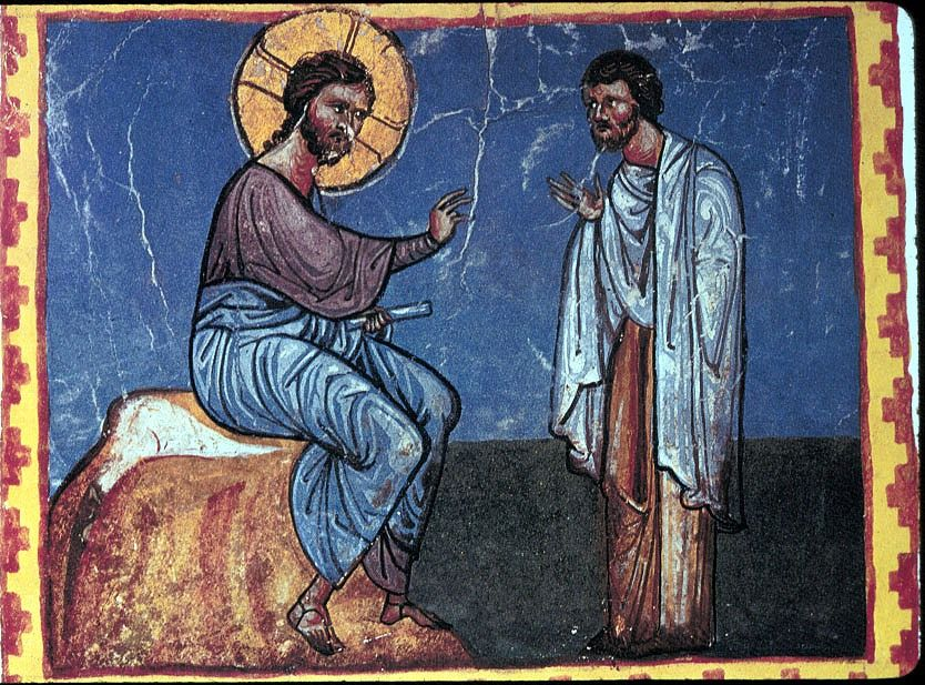 The Rich Ruler, 11th century Armenian art