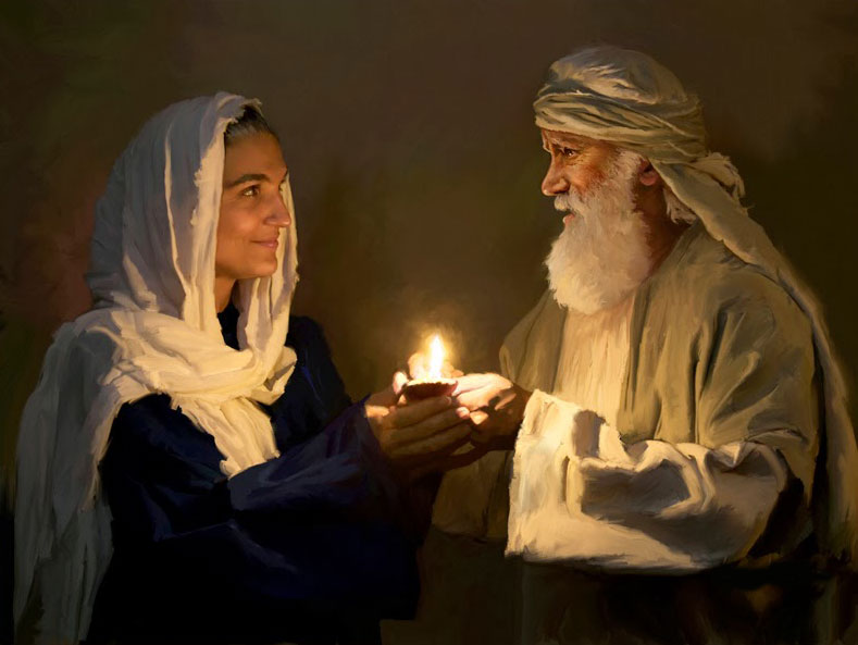 Sarah, wife of Abraham and mother to Isaac (Genesis 17-23).