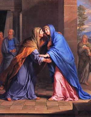 Elizabeth, mother to John, the prophet crying in the wilderness who goes before Jesus to prepare the way (Luke 1).