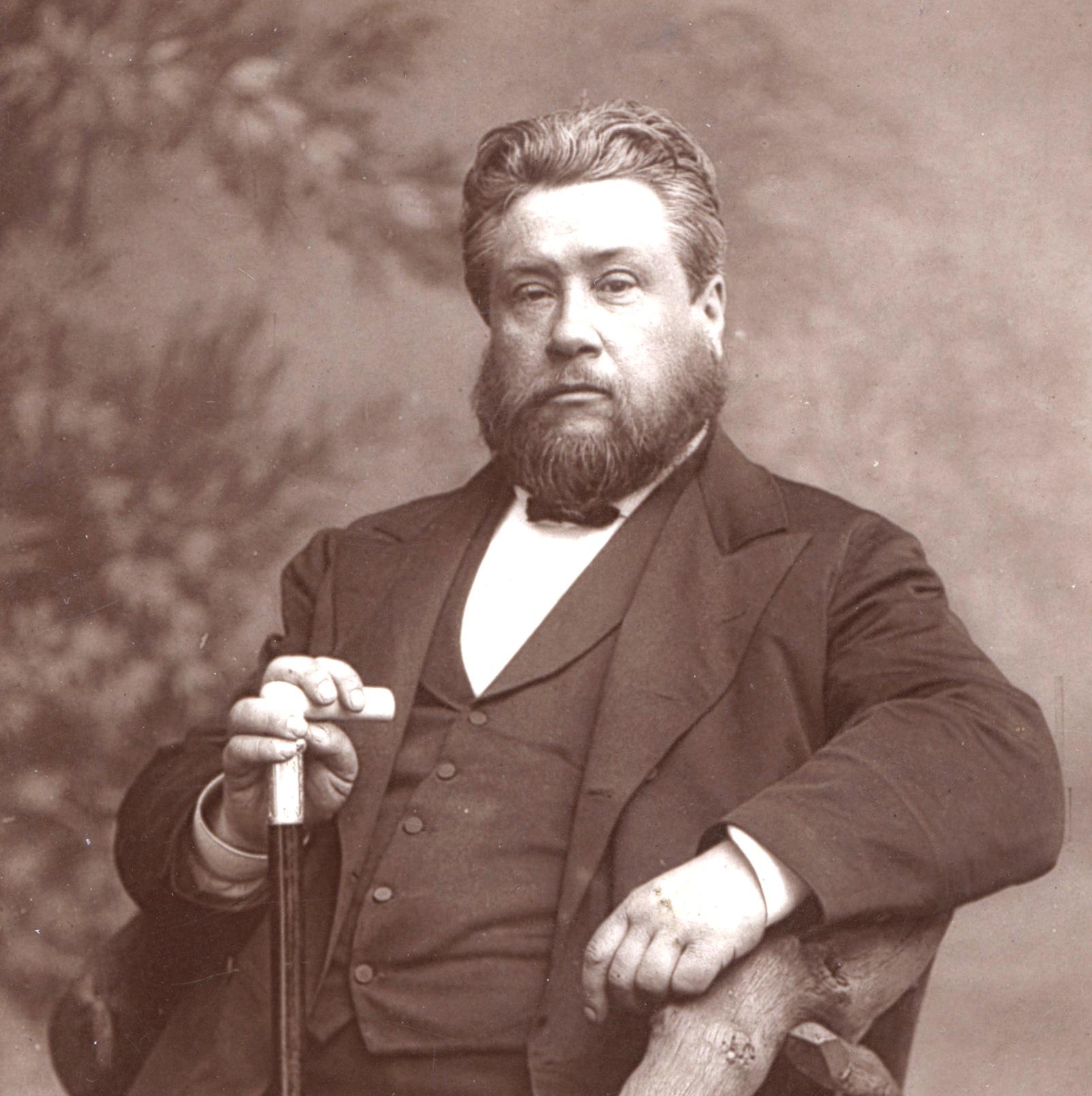 Preacher Charles Spurgeon (1834-1892)