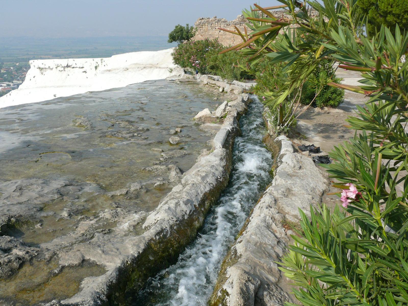 Pamukkale (Hierapolis) springs