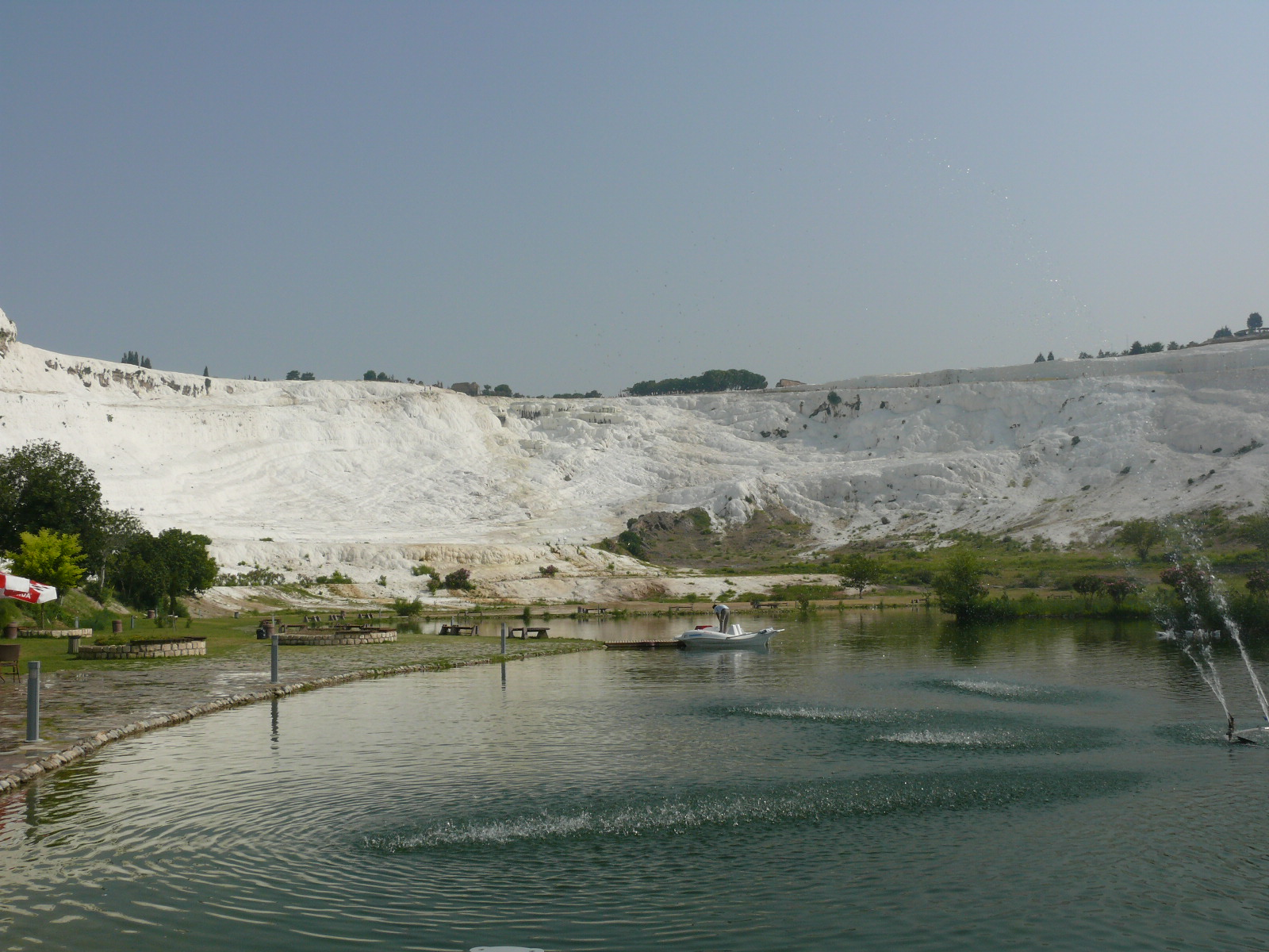"Pamukkale (Hierapolis) ""cotton fortress"""